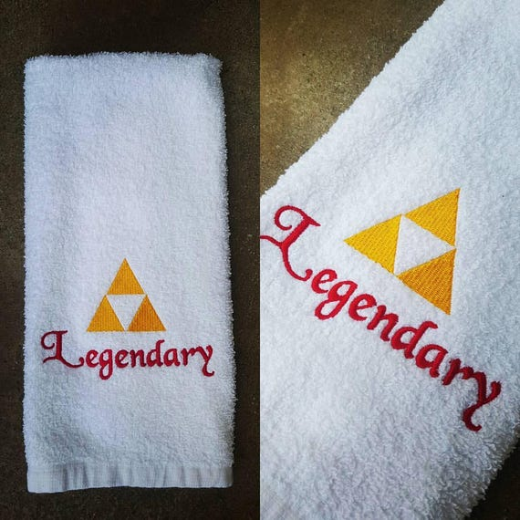 Legendary Zelda Inspired Sweat Towel Gym Towel