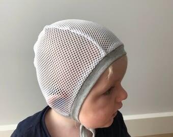 Pilot cap/baby bonnet