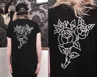 Rose Tattoo T-shirt