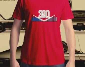 AMC AMX 390ci V8 T-Shirt, Muscle Car T-Shirt, Men's T-Shirt, Women's T-Shirt, Classic Car T-Shirt, Vintage T-Shirt