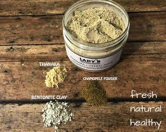 100 gr Thanaka Herbal face Mask/ herbal Face Mask/ Thanaka Mask