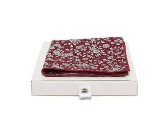 de MORÉ - Ruby handkerchief white floret