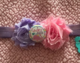 Summer hair bow headband
