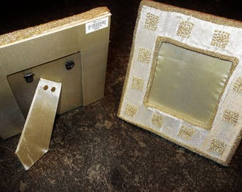 MONSOON Beautiful Rare Vintage Handcrafted Pair of Photo Frames