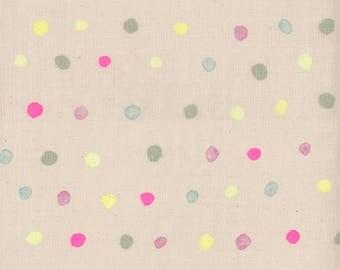 Nani Iro Japanese Fabric Kokka Colorful Pocho Double Gauze - sourire - 50cm