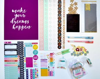 Live A Colorful Life Mini Planner Accessories Kit