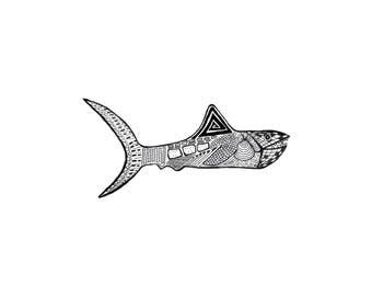 Fish Print 3