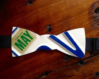 License Plate Bow Tie