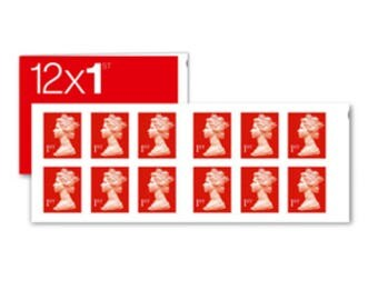 1st class Royal mail stamps