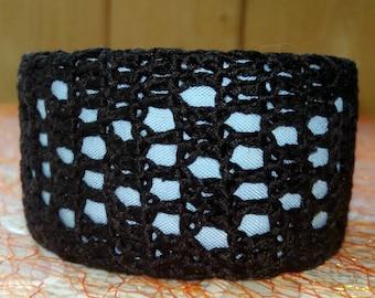 "Knitted bracelet ""Mosaic"""