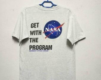 Vintage Nasa Kennedy Space Center T-shirt