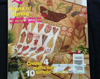 American Patchwork & Quilting Magazine April '02