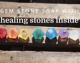 Gemstone Chakra Soap