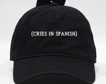 Cries In Spanish hat