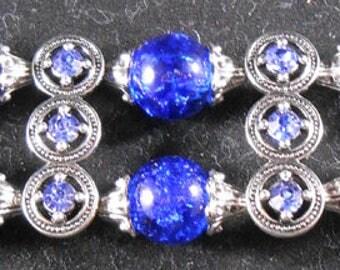 Bracelet - Blue & Silver #2