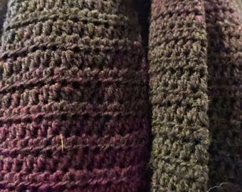 Purple ombre scarf