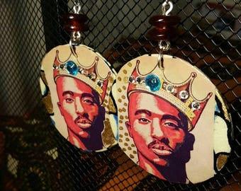 Tupac Earrings