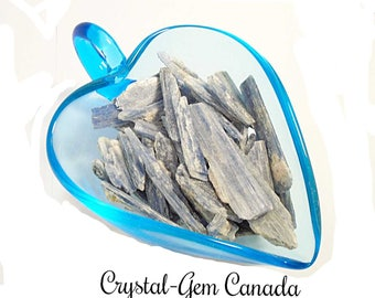 5 (five) Blue Kyanite, Blades Kyanite,  Decoration Stones,- Gemstone for spiritual energy. Gemstone infused w Reiki