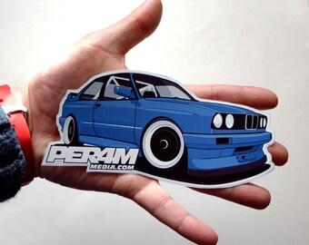 Bmw Sticker Etsy - Personalised car bmw x3 decals