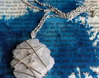 Solar Quartz Crystal Necklace