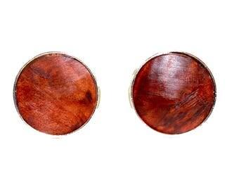 Thuya Burl wood Cufflinks
