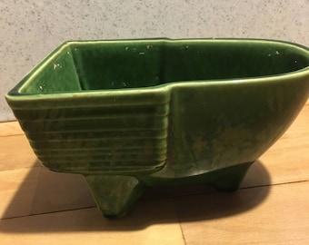 McCoy Green Planter 609, tub or cart