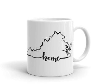 Virginia Home State - Coffee Mug