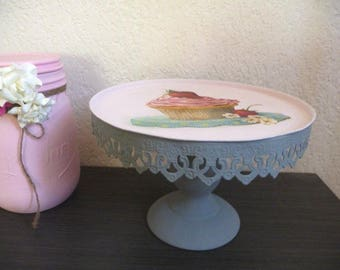 Set iron for candies and cakes in shabby style