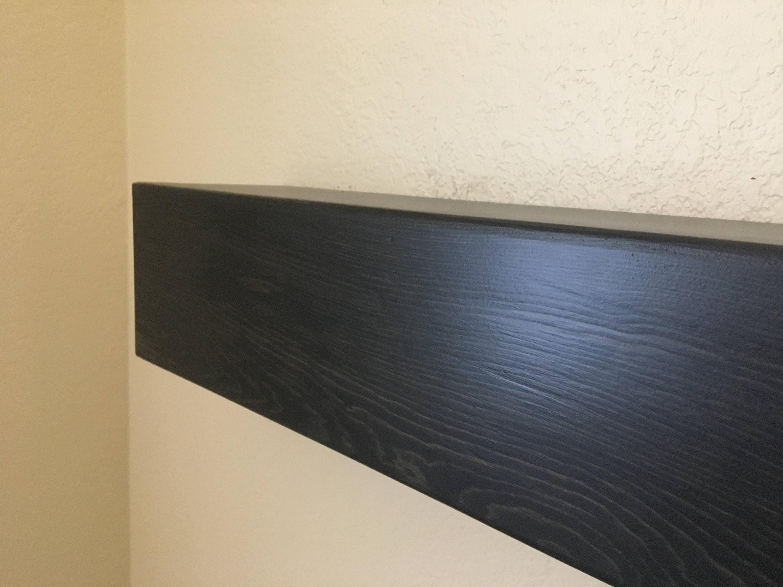 ebony fireplace mantel mantel shelf floating mantel