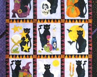 Spooky Hallows Laser Cut Quilt Kit & Pattern