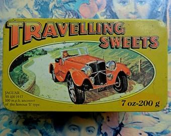 vintage sweet tin