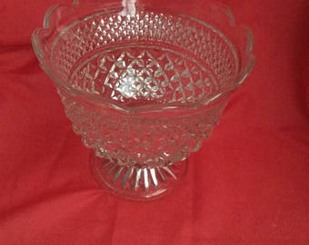 Indiana glass compote  bowl