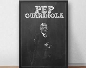 Pep Guardiola Poster