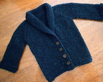 Toddler Sweater Button up Cardigan Approximately Size 10+ months old