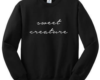 "Harry Styles ""Sweet Creature"" Crewneck Sweatshirt"