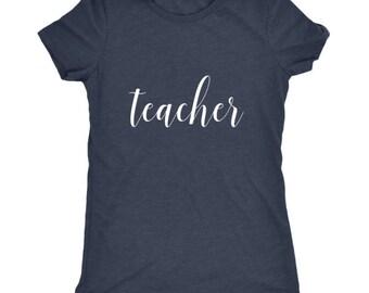 Teacher Tee // Teacher T-shirt // Teacher gifts // cute teacher tee