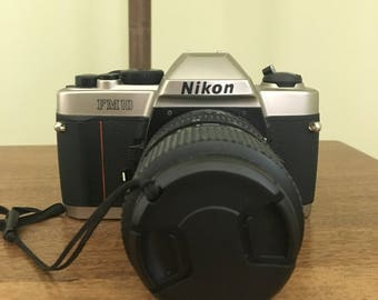 Used Nikon FM10 35 mm SLR Camera *Price Drop*