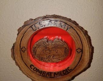 Combat Medic Badge (CMB) nightlight