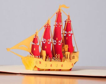 Ship pop-up card