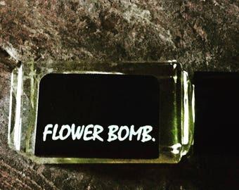 FLOWER BOMB.    Botanical Perfume Oil | Gardenia | Neroli | High Elevation Lavendar | Night  Blooming Jasmine | Rose Geranium | Rose
