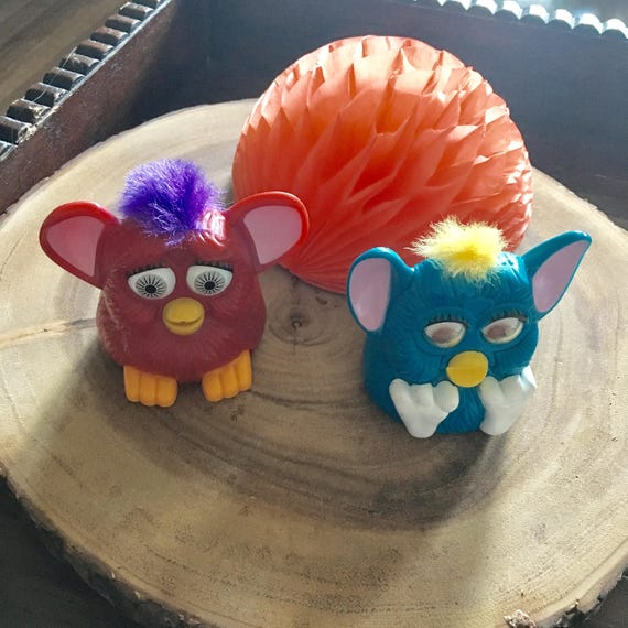 1998 McDonalds Collectable Furby Toy