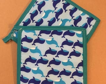 Whale Pot Holders