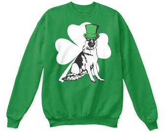 German shepherd, german shepherd shirt, german shepherd sweatshirt, german shepherd tshirt, shepherd, german shepherd st patricks day shirt