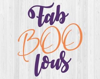 FabBOOlous  - SVG Cut File