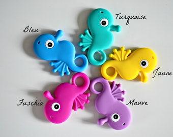 Seahorse teething toy