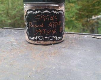 Sofia's Poison Apple, Salt Soak