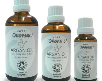 Argan Oil (Certified Organic) For Face, Body, Hair and Nails