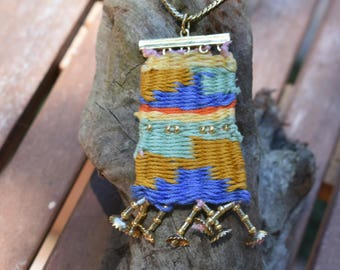 Woven Thread Necklace