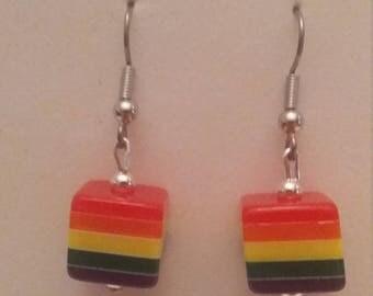 Pride Cube Earrings