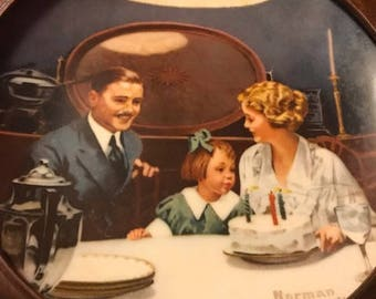 Norman Rockwell -- The Birthday Wish